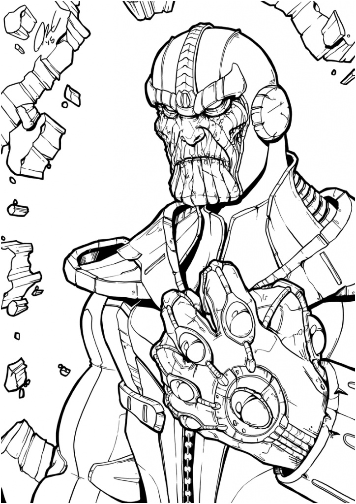 avengers endgame thanos coloring pages 11 sympathique coloriage thanos stock coloriage coloring pages thanos endgame avengers