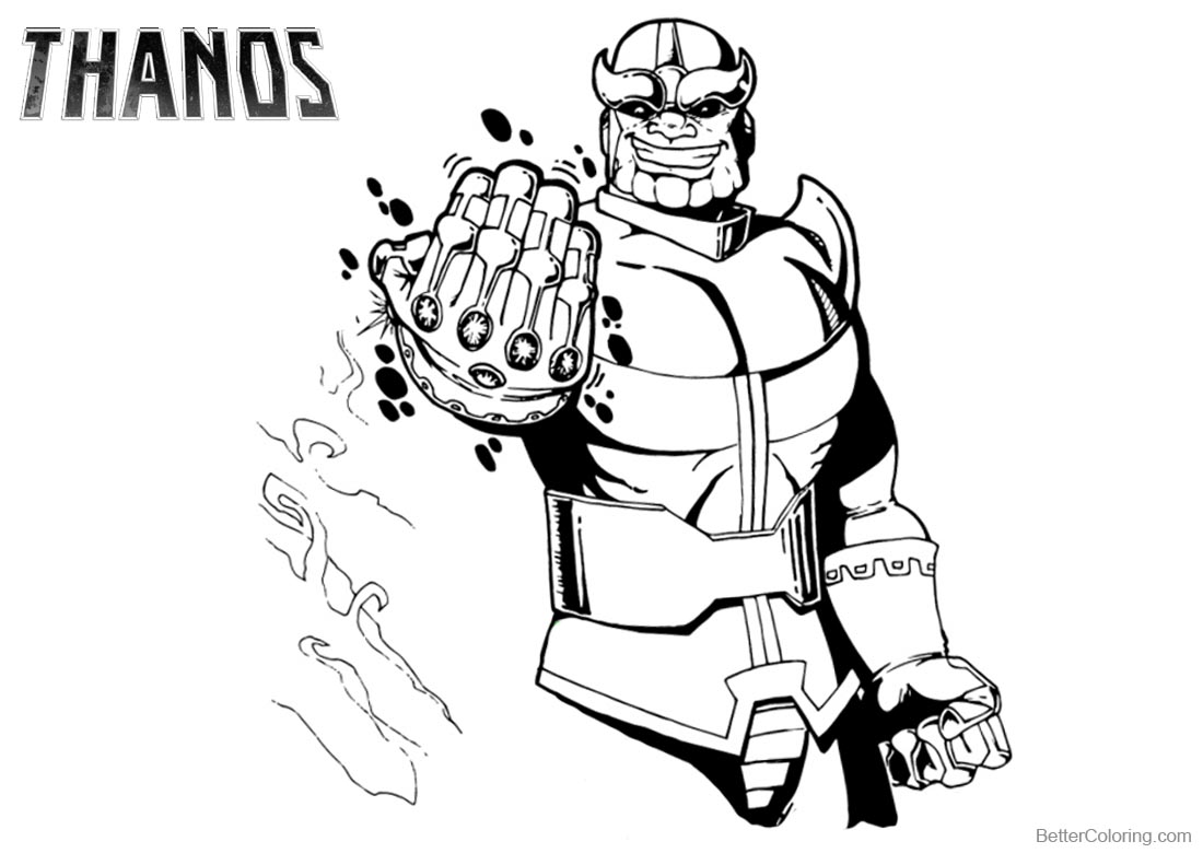 avengers endgame thanos coloring pages avengers thanos coloring pages free printable coloring pages thanos endgame avengers coloring pages