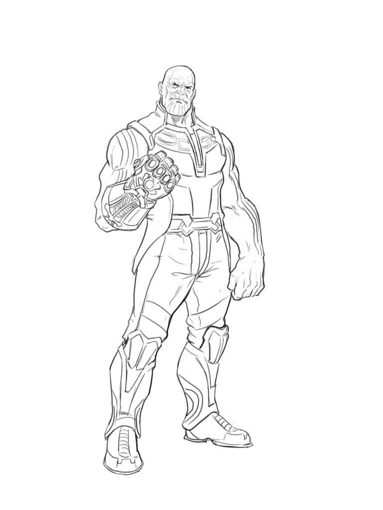 avengers endgame thanos coloring pages how to draw thanos from the avangers superhero coloring pages avengers endgame coloring thanos