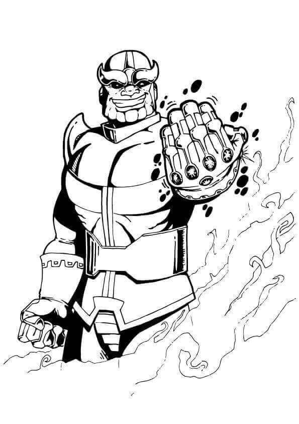 avengers endgame thanos coloring pages how to draw thanos infinity gauntlet step by step guide thanos pages endgame coloring avengers