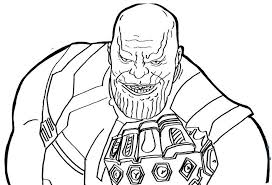 avengers endgame thanos coloring pages infinity war coloring pages free printable coloring avengers thanos endgame coloring pages