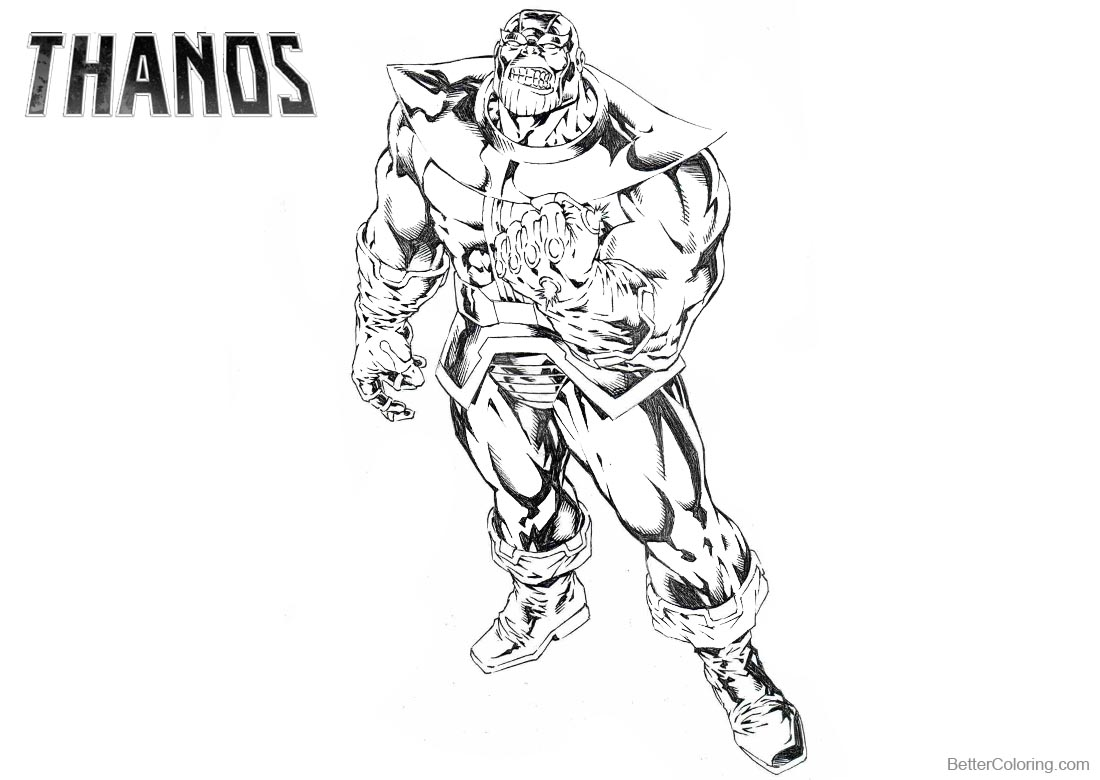 avengers endgame thanos coloring pages thanos coloring sheet pages sketch coloring page coloring pages avengers endgame thanos
