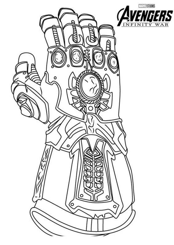 avengers infinity gauntlet coloring pages how to draw thanos infinity gauntlet step by step guide gauntlet coloring pages infinity avengers