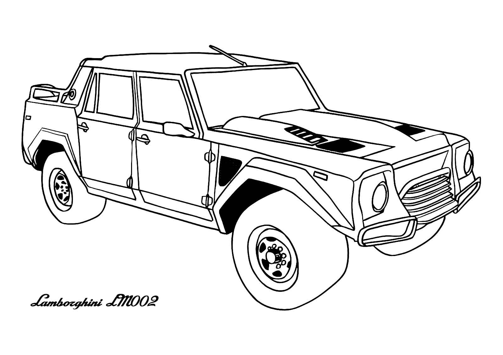 awesome car coloring pages awesome lamborghini lm002 cars coloring page sheet to car pages coloring awesome