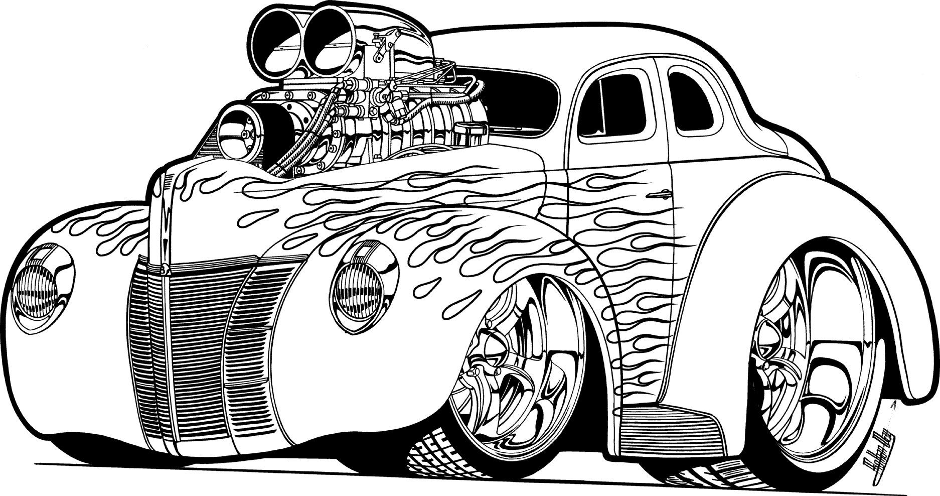 awesome car coloring pages car coloring pages for adults coloring pages coloring car awesome pages