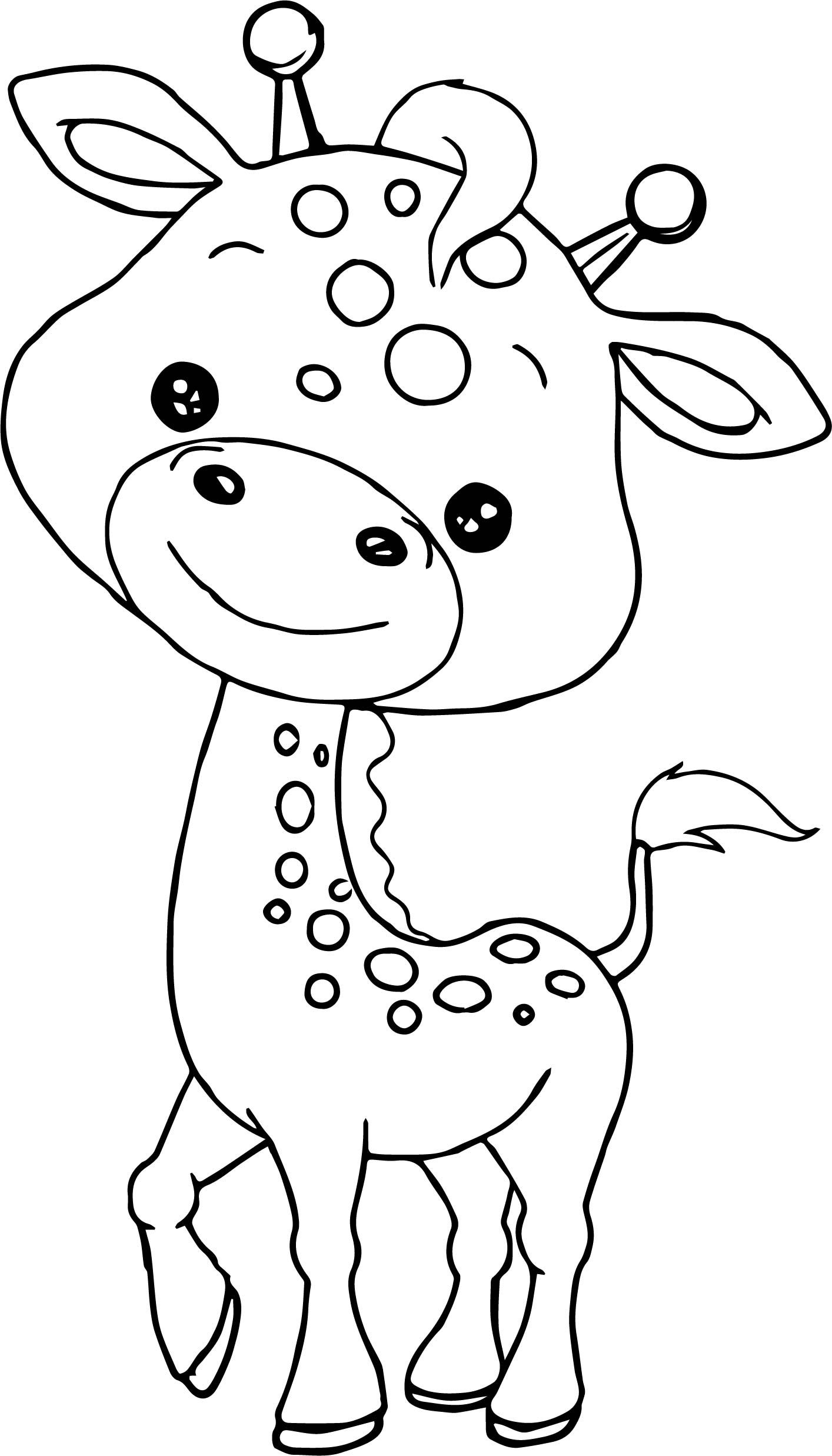 baby animals to color cute animals drawing at getdrawings free download to animals color baby
