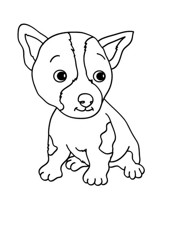 baby dog coloring pages netart 1 place for coloring for kids part 7 coloring baby dog pages