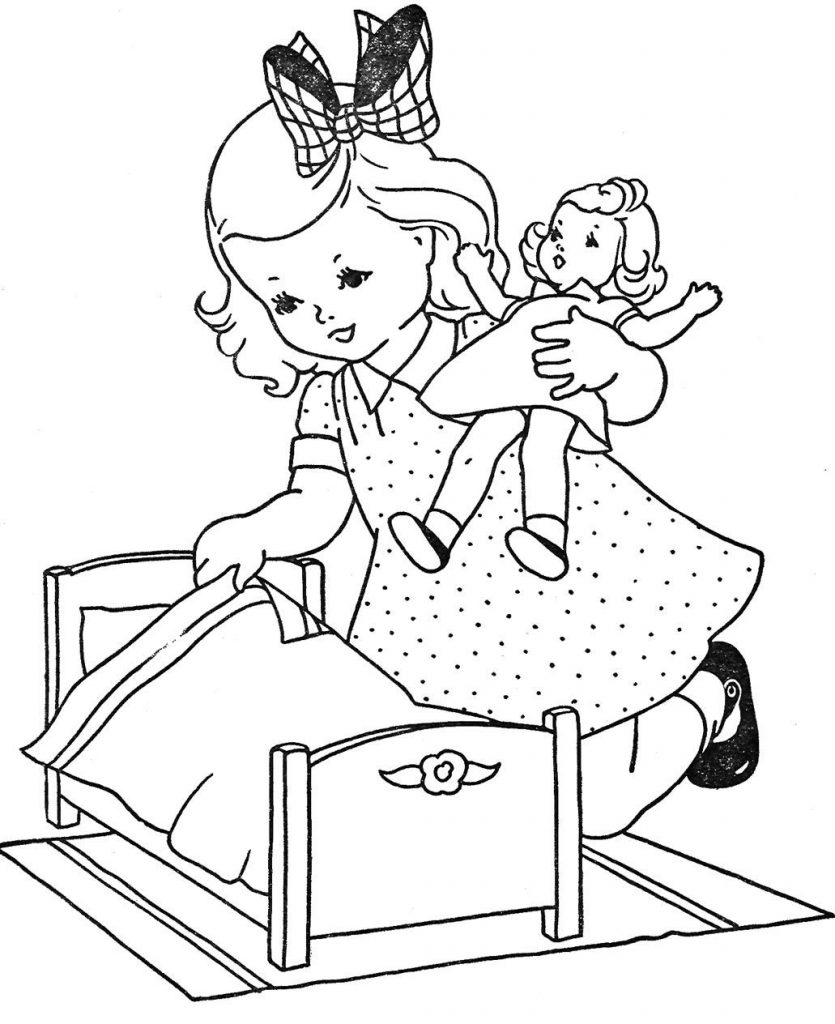 baby doll coloring page doll coloring pages best coloring pages for kids coloring doll page baby