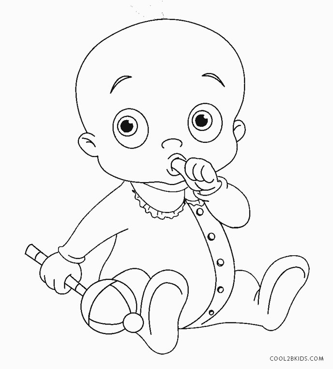 baby for coloring free printable baby coloring pages for kids coloring for baby 1 1