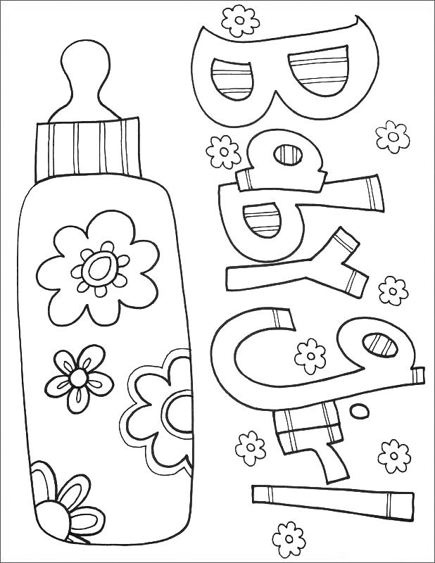 baby for coloring free printable baby coloring pages for kids for coloring baby 1 1