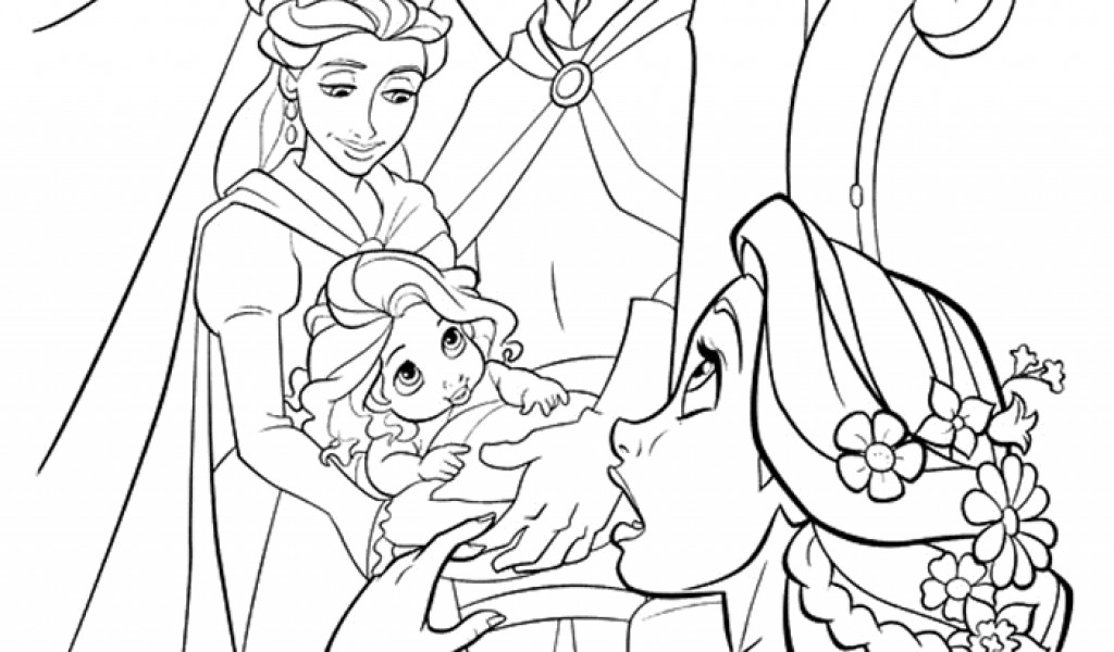baby rapunzel coloring pages baby rapunzel coloring pages duathlongijon coloring blog rapunzel baby pages coloring
