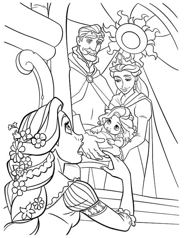 baby rapunzel coloring pages coloring pages disney princess baby divyajananiorg coloring pages rapunzel baby