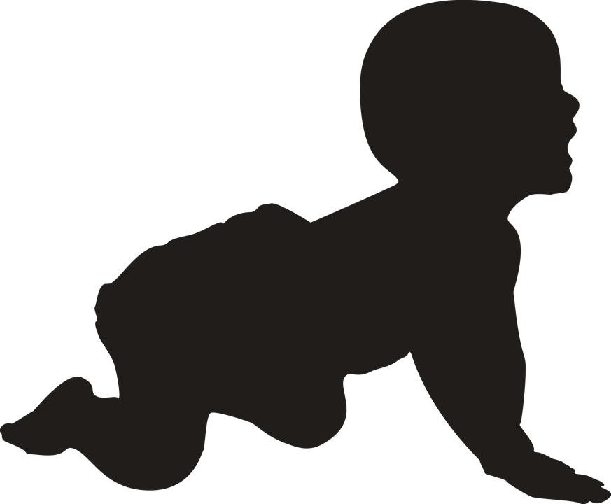 baby silhouette baby silhouette png free baby silhouettepng transparent silhouette baby