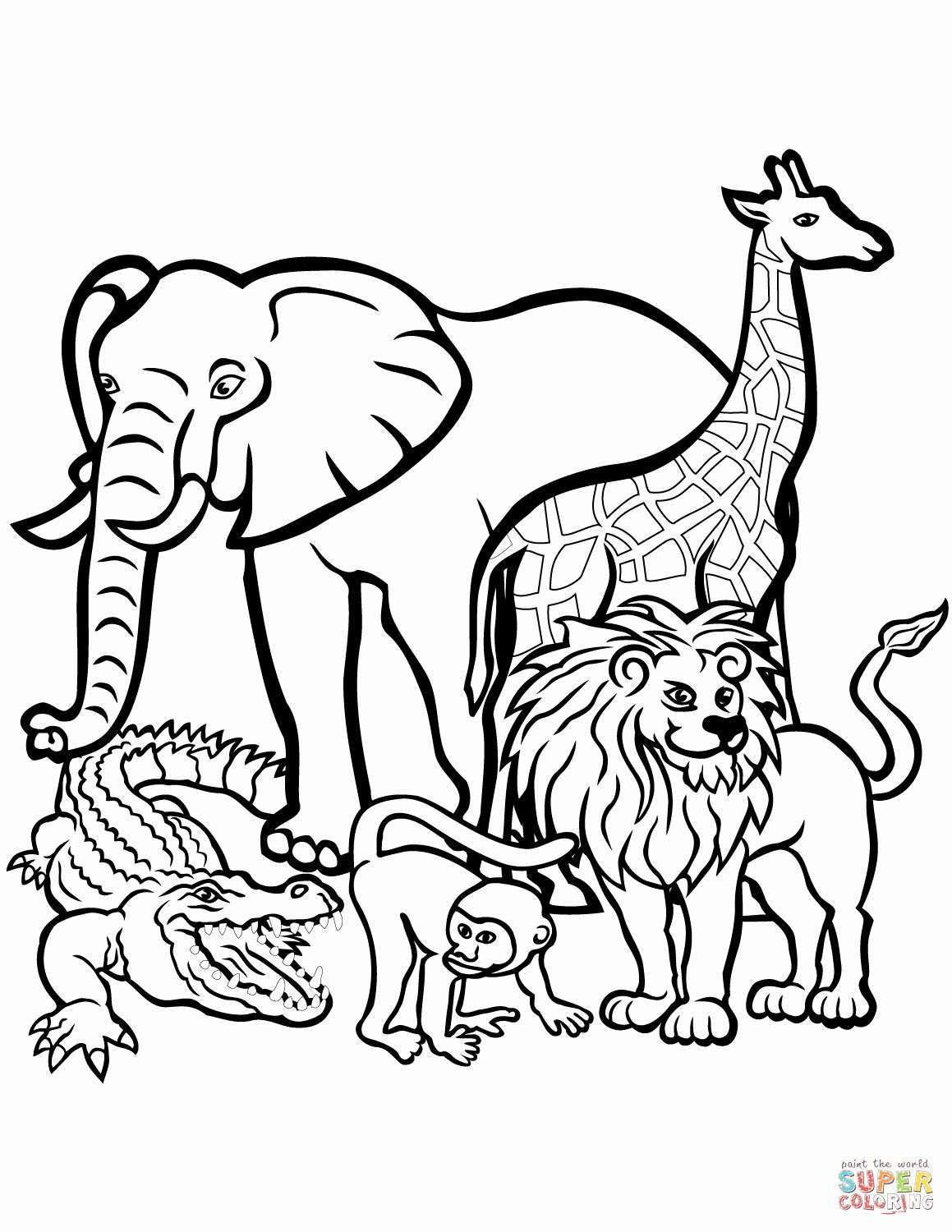 baby zoo animal coloring pages free printable zoo coloring pages for kids coloring pages baby animal zoo