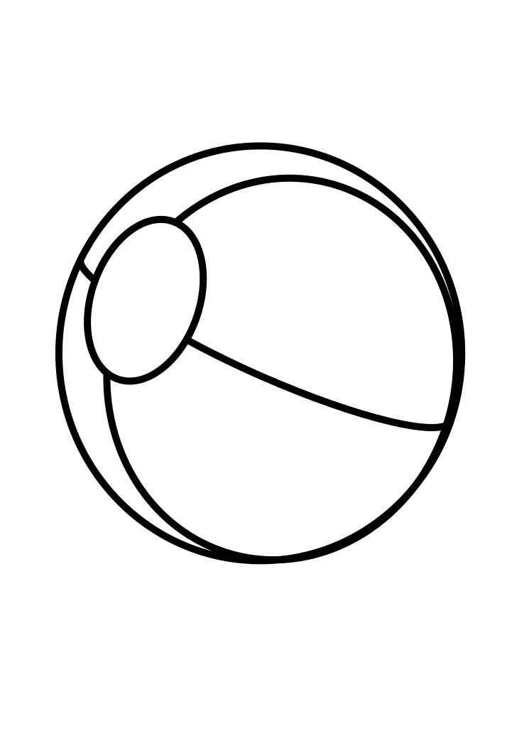 ball coloring pages ball coloring pages for kids to print for free ball pages coloring