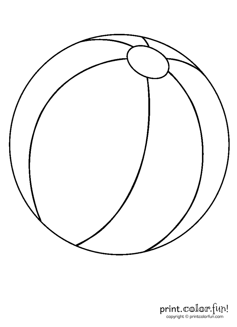 ball coloring pages ball coloring pages for kids to print for free pages coloring ball