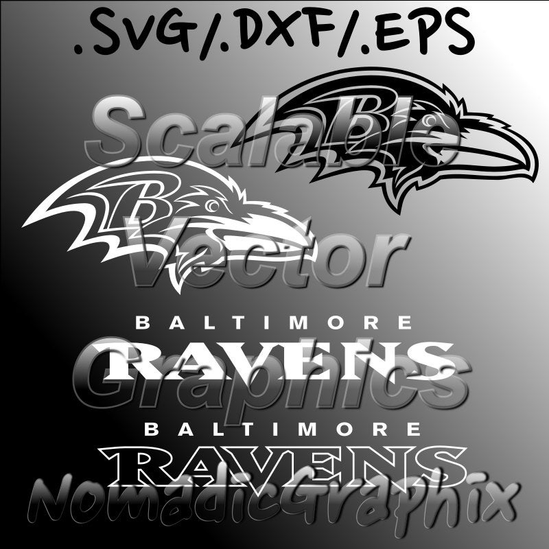 baltimore ravens logo outline baltimore ravens with logotype vector cut by nomadicgraphixsvg baltimore ravens logo outline