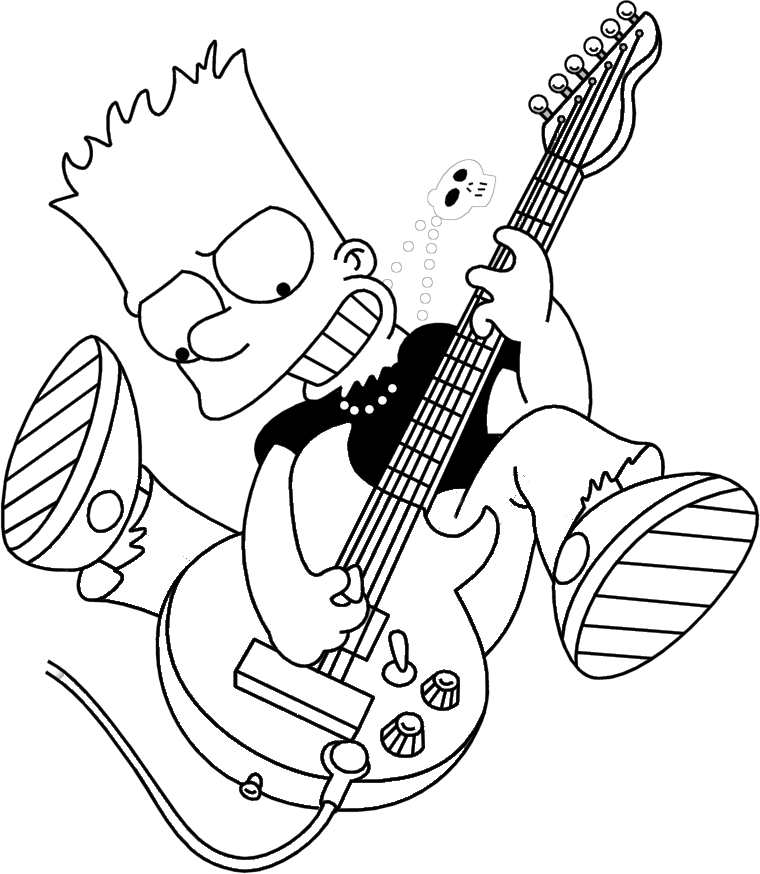 bart simpson coloring the simpsons coloring pages bart simpson coloring pages simpson coloring bart