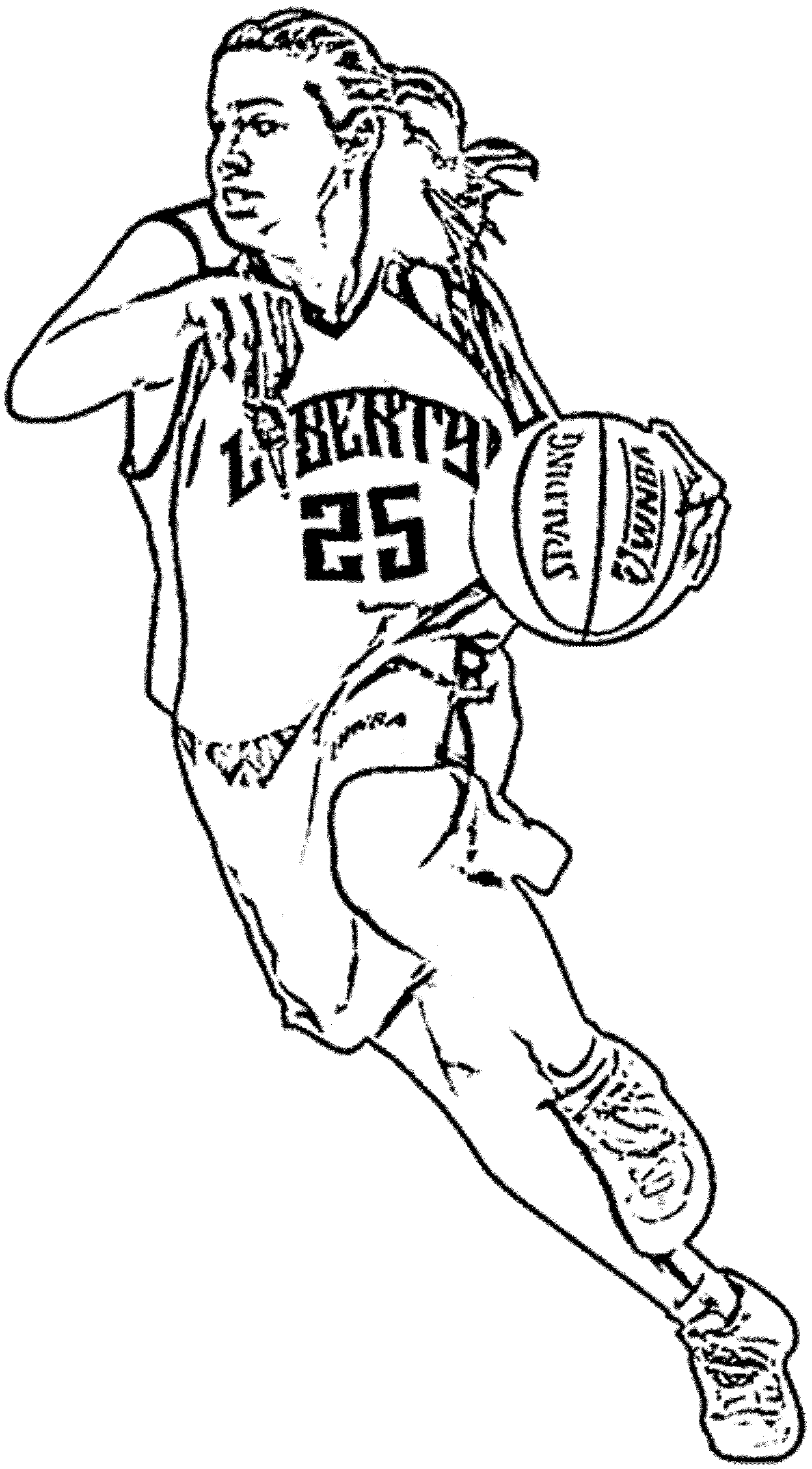basketball player coloring page a known rebounder timothywarfield coloring basketball player page