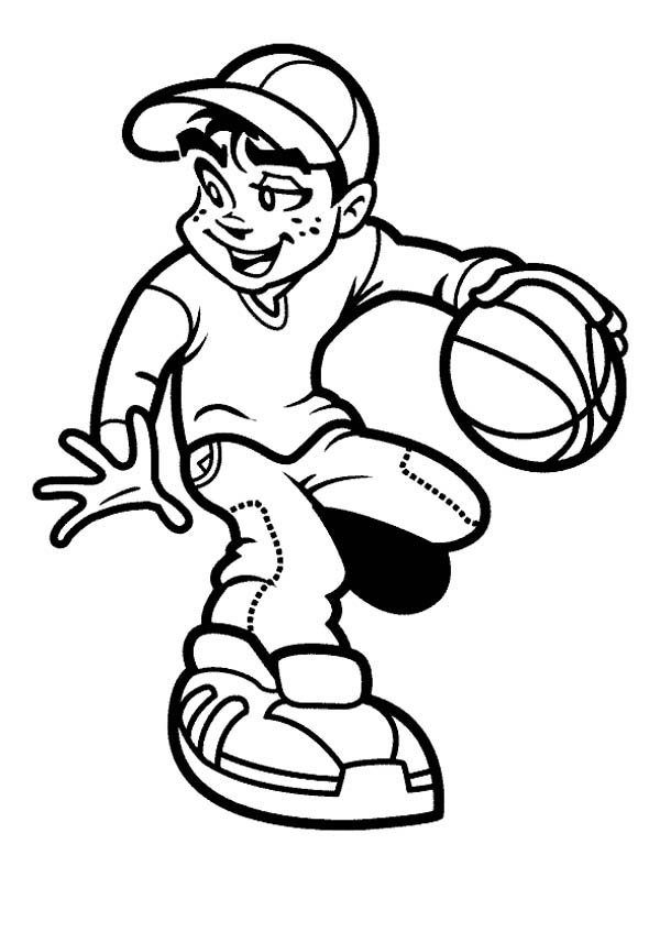 basketball player coloring page print download interesting basketball coloring pages player basketball page coloring