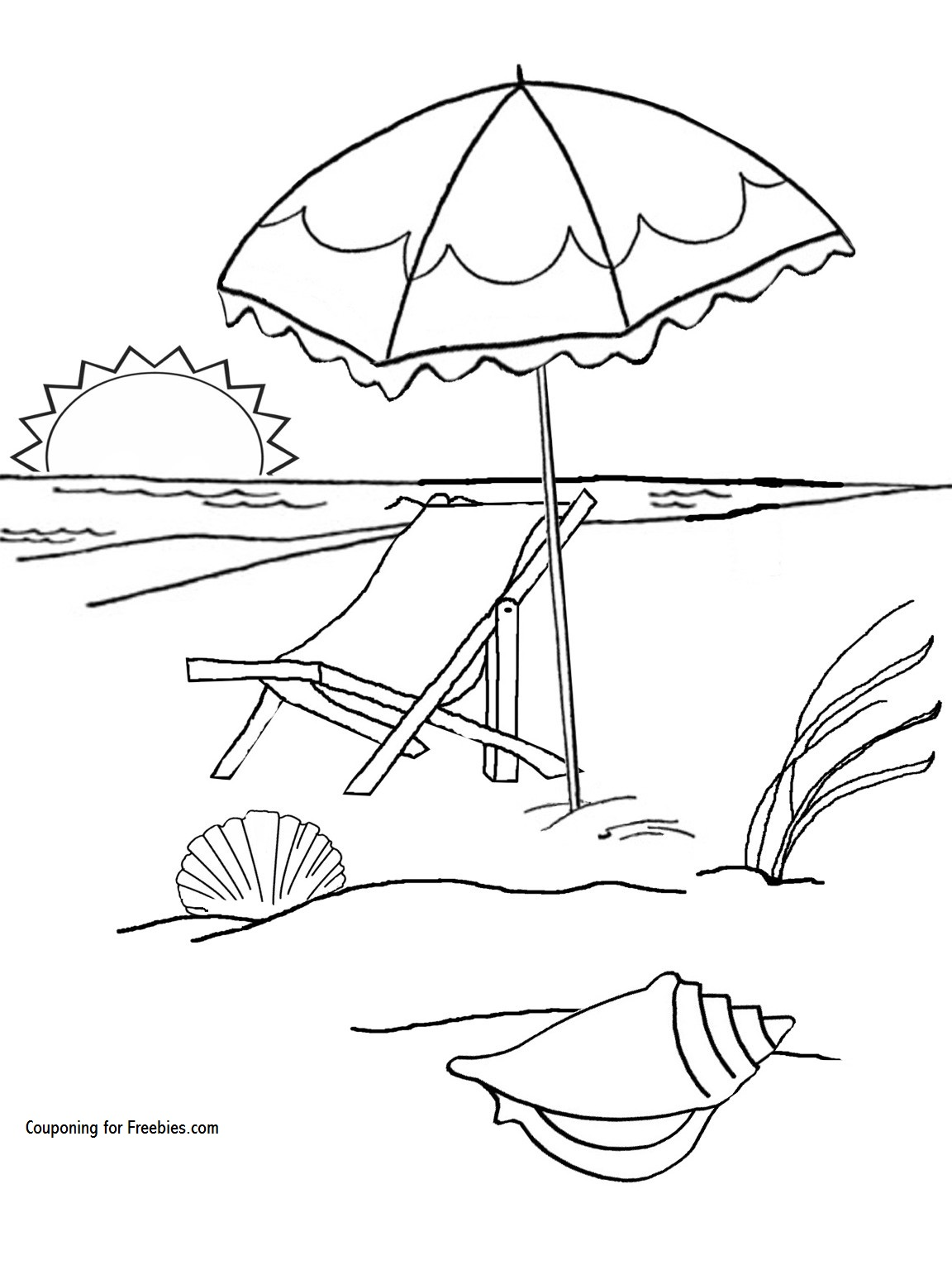 beach colouring page coloring pages free beach coloring picture fun kids summer activity beach page pages coloring colouring