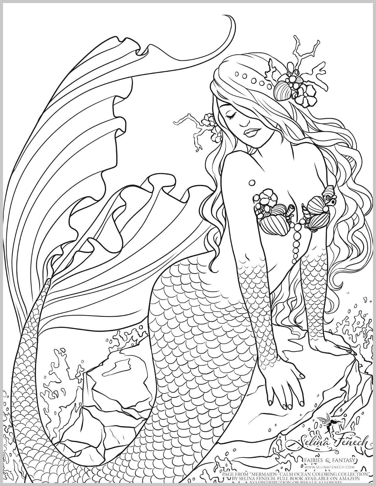 beautiful mermaid coloring pages 100 free adult coloring pages dibujos dibujos de beautiful pages mermaid coloring