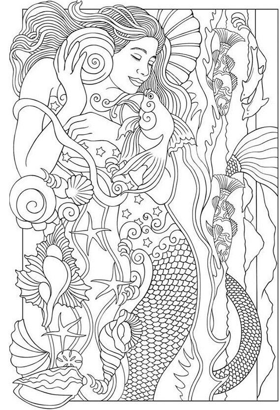 beautiful mermaid coloring pages the little mermaid coloring pages download and print the mermaid coloring pages beautiful