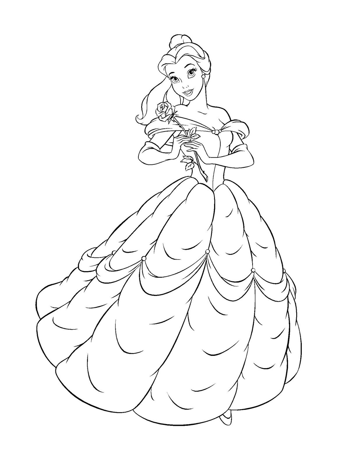 belle coloring sheets free printable belle coloring pages for kids belle coloring sheets