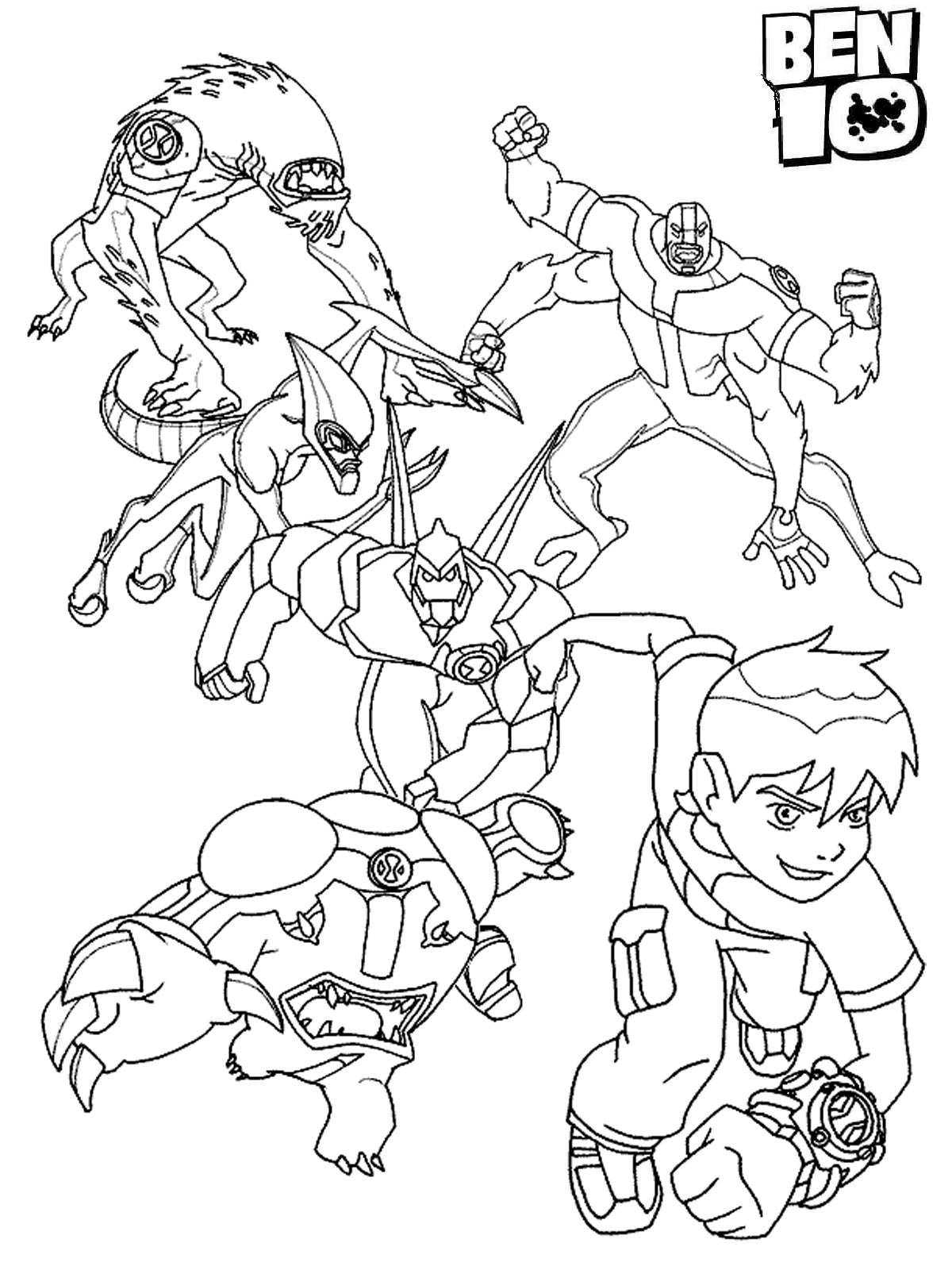 ben 10 coloring page ben 10 coloring pages free coloring pages printables for 10 coloring page ben