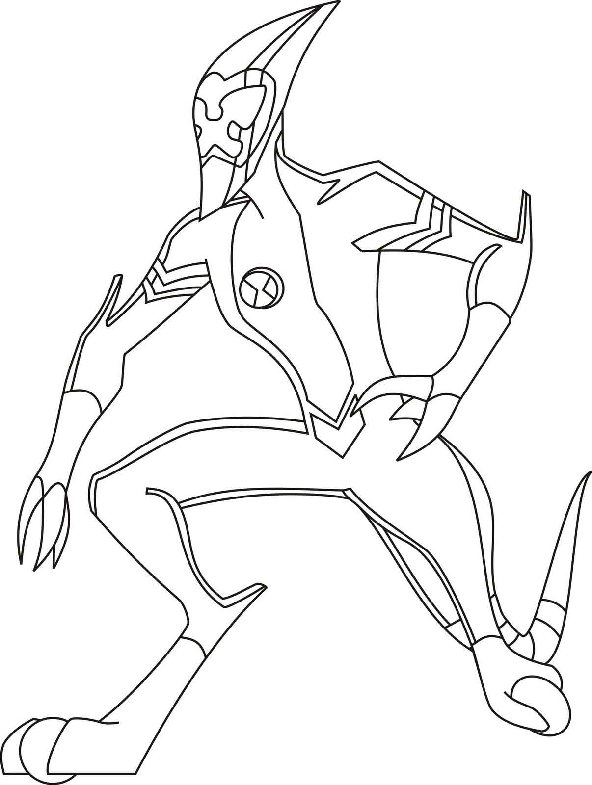 ben 10 coloring page printable ben ten coloring pages for kids cool2bkids page coloring 10 ben