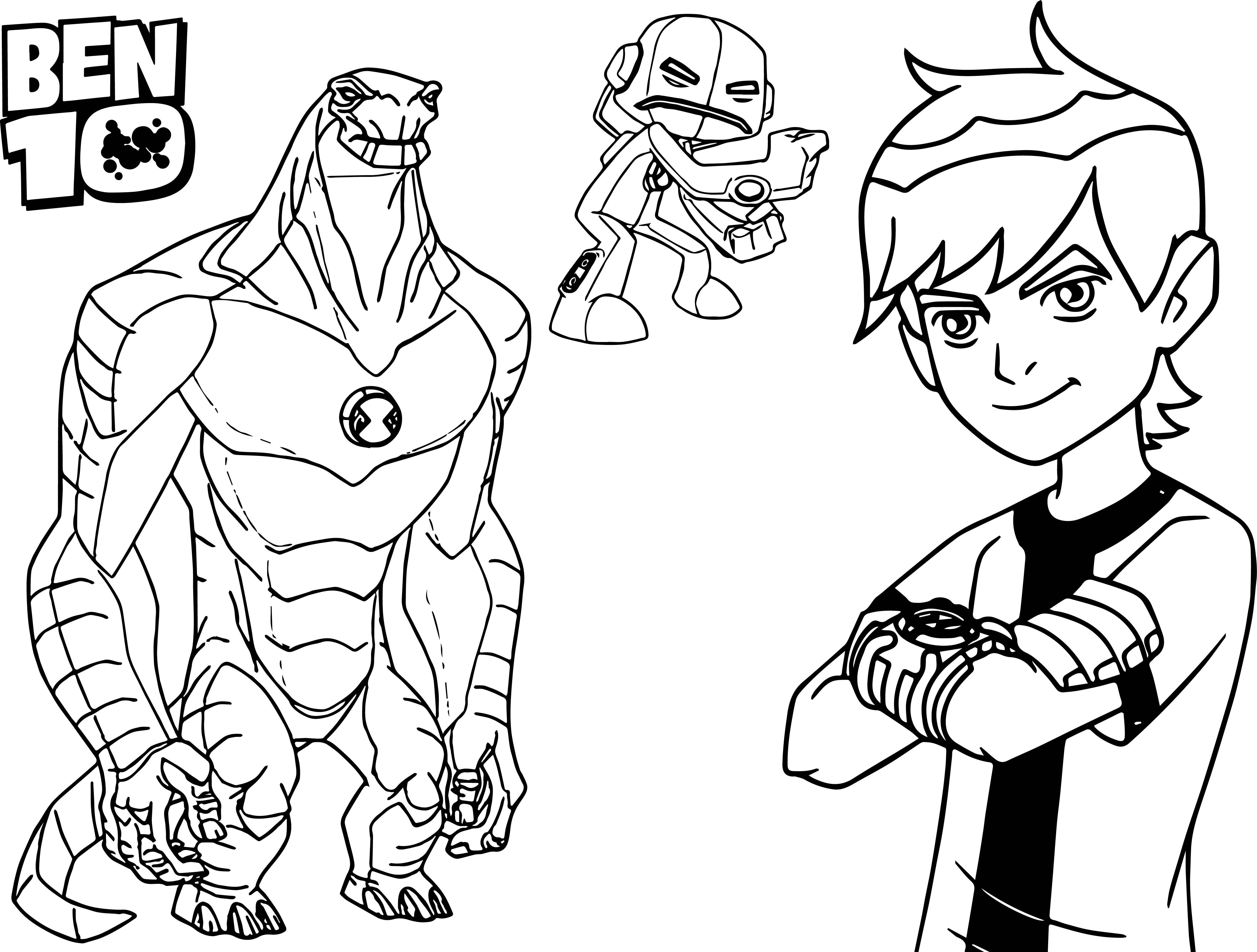 ben 10 for coloring free printable ben 10 coloring pages for kids jeffersonclan coloring for ben 10