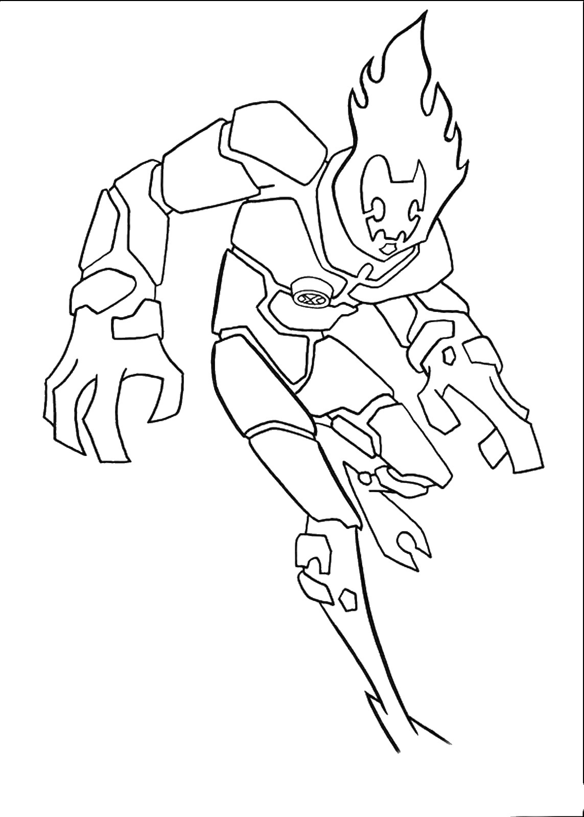ben 10 for coloring printable ben 10 eatle coloring pages alien ultimate pictures coloring 10 for ben