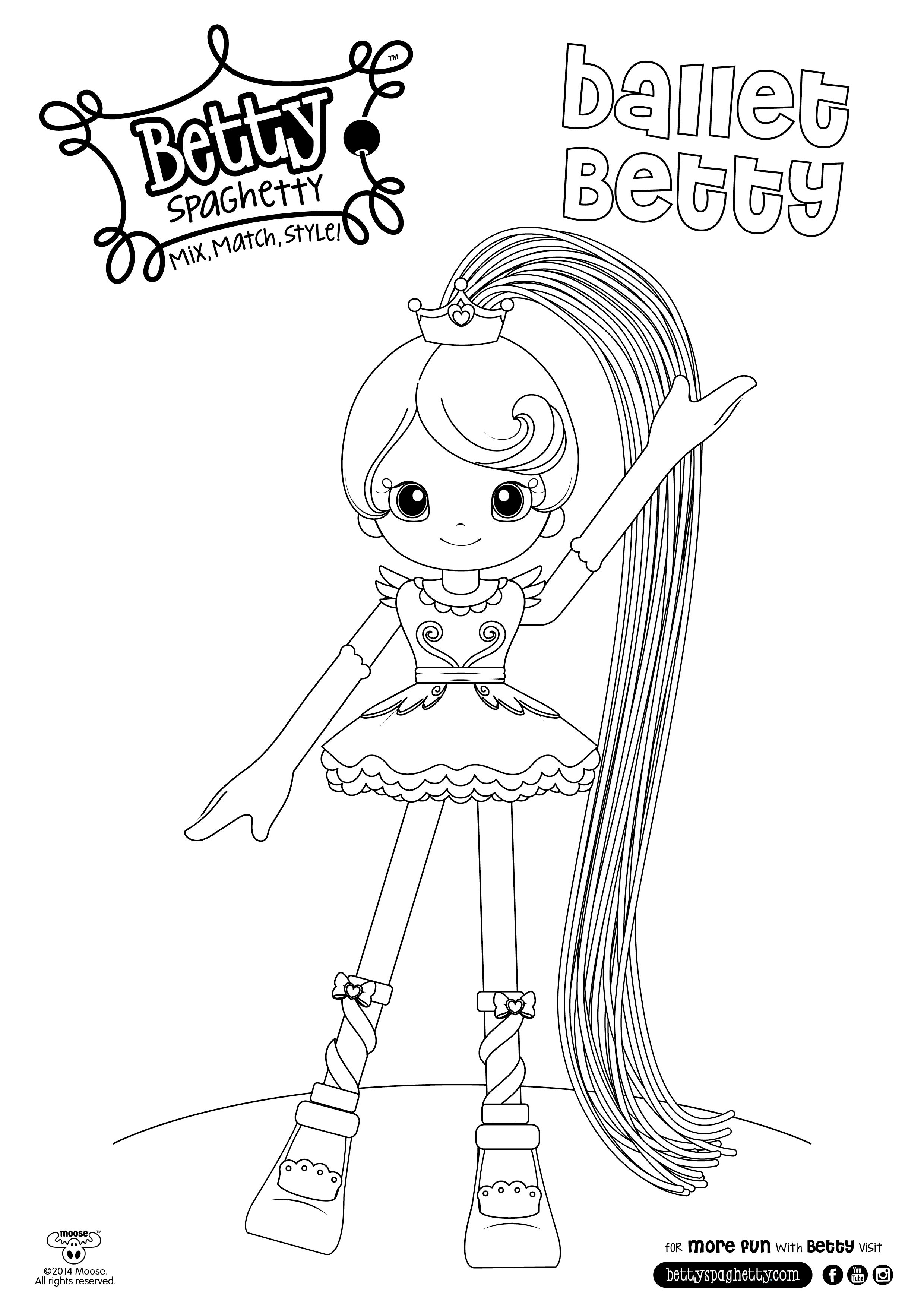 betty spaghetty coloring pages betty spaghetty coloring pages getcoloringpagescom coloring betty spaghetty pages