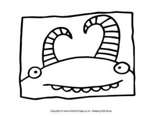 big mouth monster coloring page big mouth monster coloring page page monster big coloring mouth