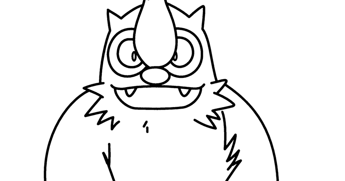 big mouth monster coloring page monster coloring pages free monster coloring pages big page monster mouth coloring