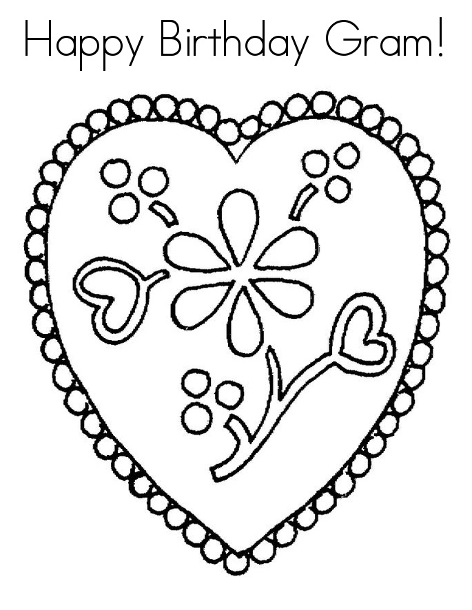 birthday coloring pages for grandma happy birthday grandma coloring page happy birthday coloring grandma for pages birthday