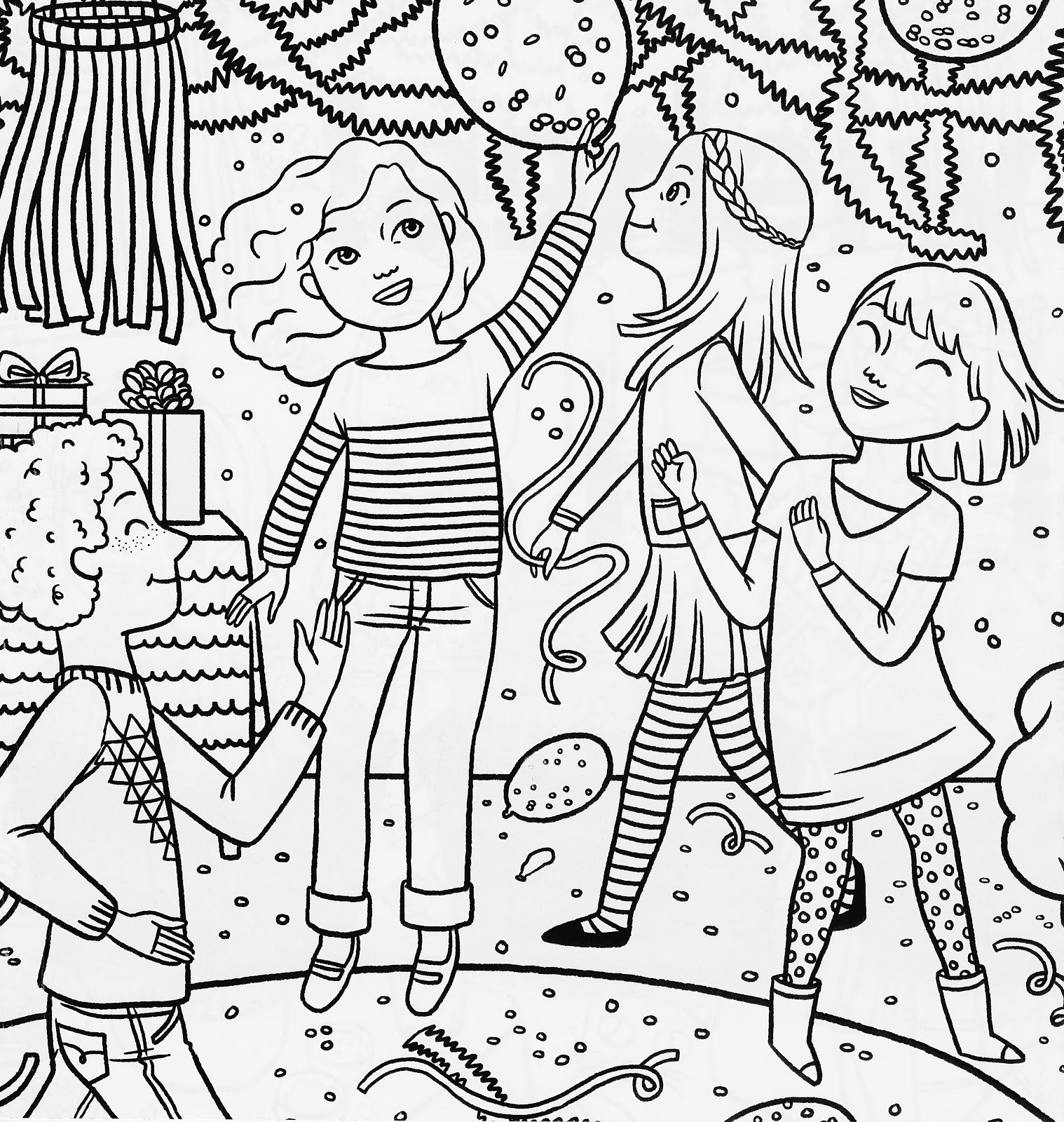 birthday girl coloring pages a little girl holding a happy birthday cake coloring page coloring pages girl birthday