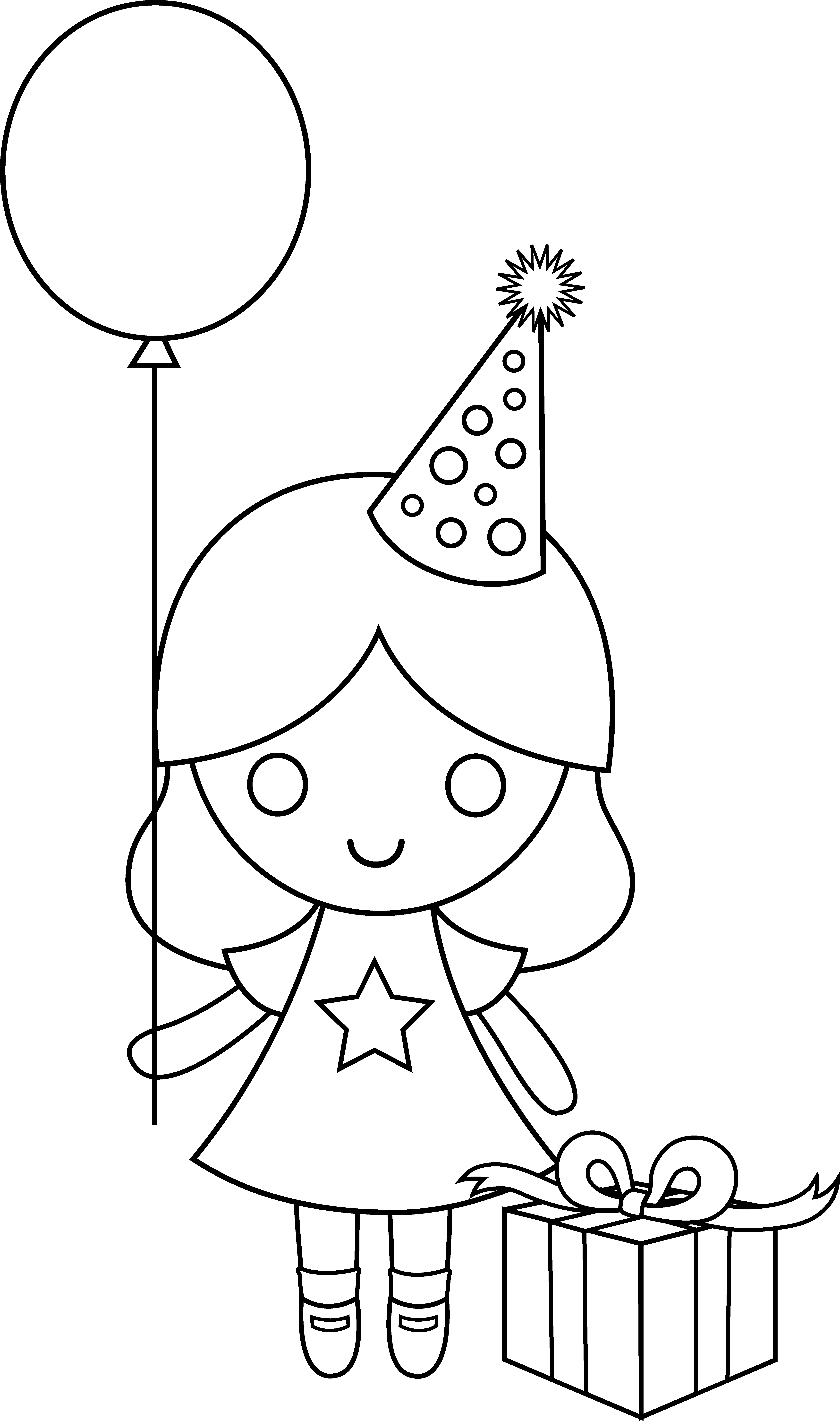 birthday girl coloring pages birthday coloring pages birthday girl coloring pages