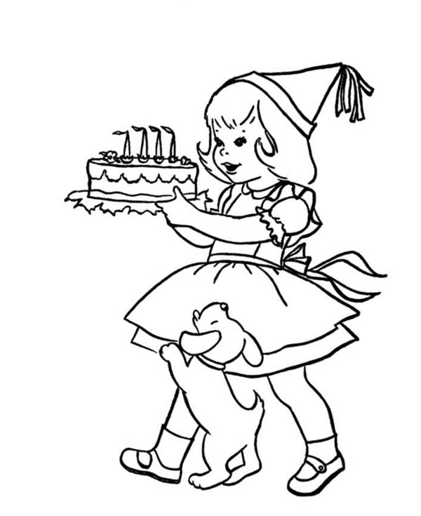 birthday girl coloring pages birthday coloring pages for girls coloring home girl birthday coloring pages
