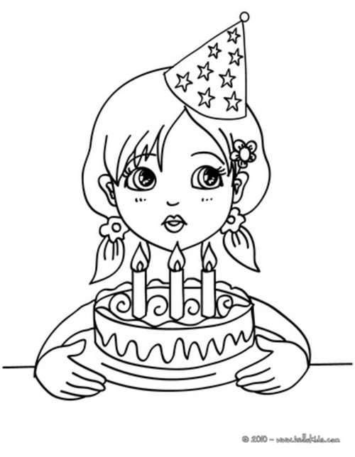birthday girl coloring pages free dearie dolls digi stamps happy birthday girl happy pages birthday girl coloring