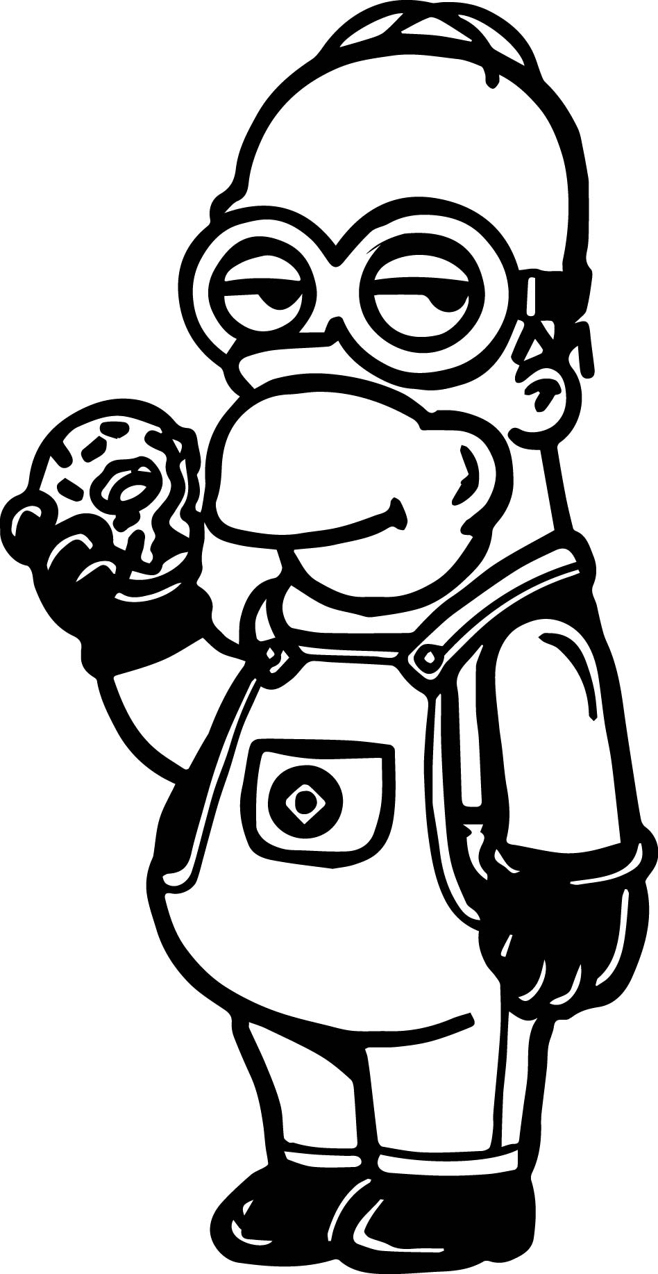 bob the minion coloring pages bob minion drawing at getdrawings free download coloring the pages bob minion