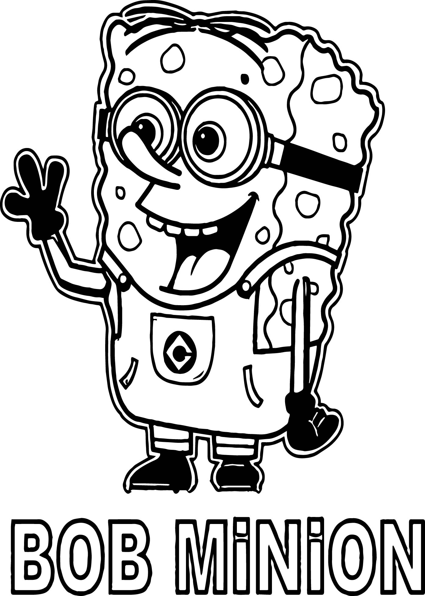 bob the minion coloring pages loudlyeccentric 34 bob minion coloring pages minion the bob coloring pages