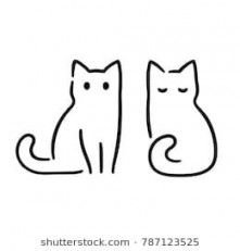 bongo cat coloring pages trendy cats illustration vector simple 56 ideas in 2020 bongo coloring cat pages