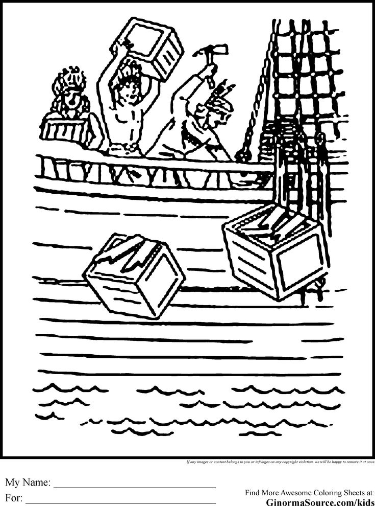boston tea party coloring page pin by happykidsactivity on coloring for kids collection boston tea party coloring page