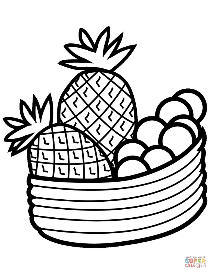 bowl of fruit coloring page cartoon fruits coloring pages see the category to find of page coloring bowl fruit