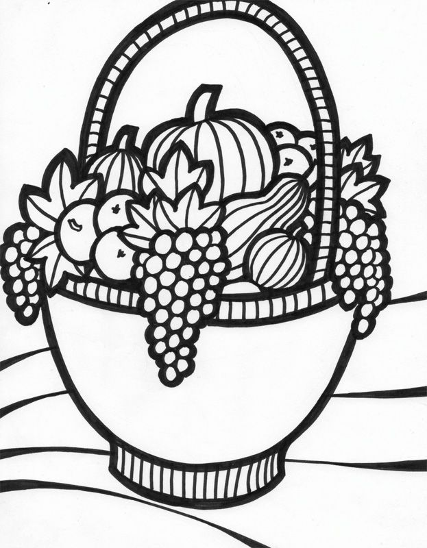 bowl of fruit coloring page fruit basket drawing step by step at getdrawings free page fruit coloring bowl of