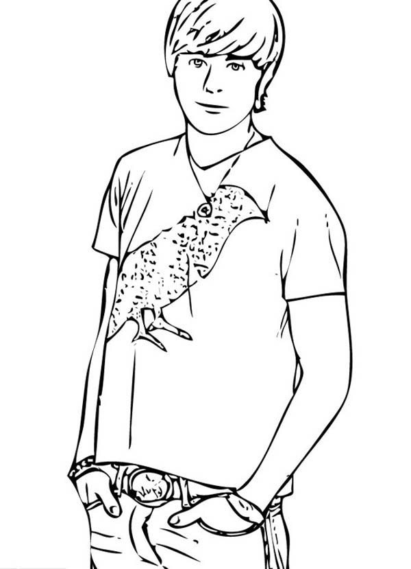 boy coloring games popular male student in high school musical coloring page coloring boy games