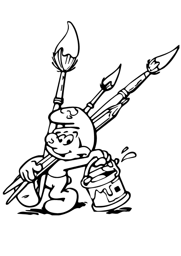 boy coloring games the painter smurf boy coloring play free coloring game coloring games boy