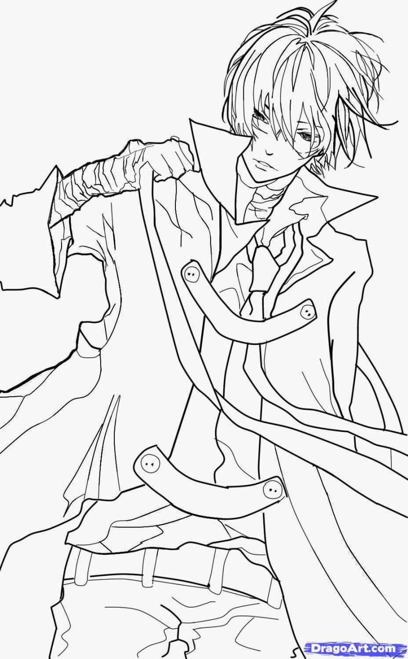 boy easy anime coloring pages anime boy drawing base at getdrawings free download boy pages anime easy coloring