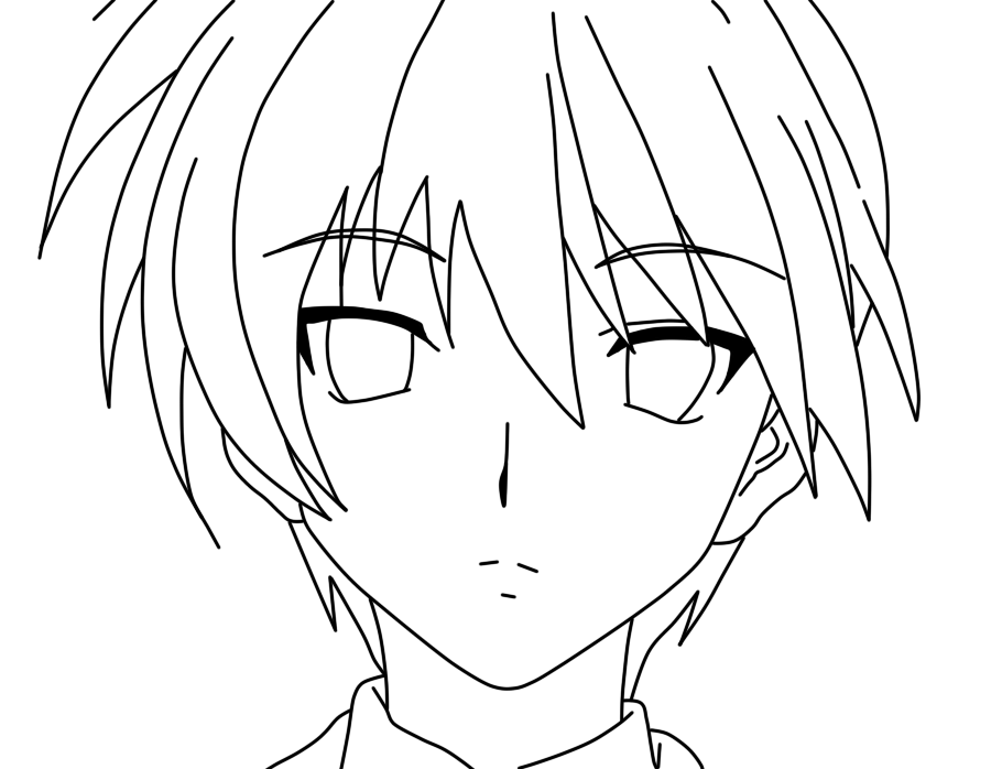 boy easy anime coloring pages anime boys coloring pages coloring home pages easy anime boy coloring